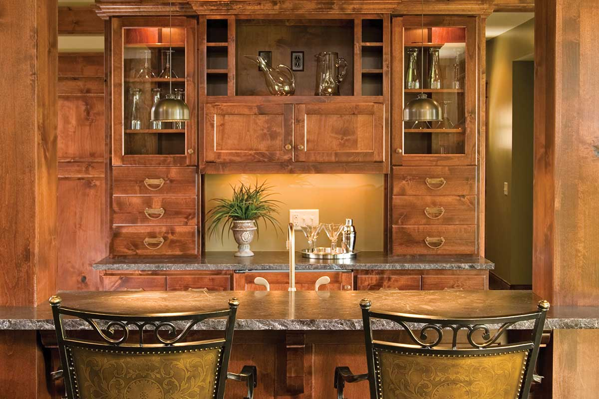18 custom bar cabinets Or