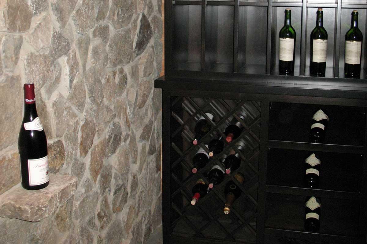 Custom bar cabinets custom wine cellars basement bars mn for Custom wine bar