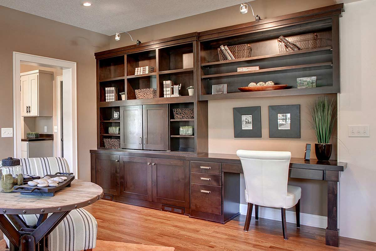 12 custom home office cabinets Ff