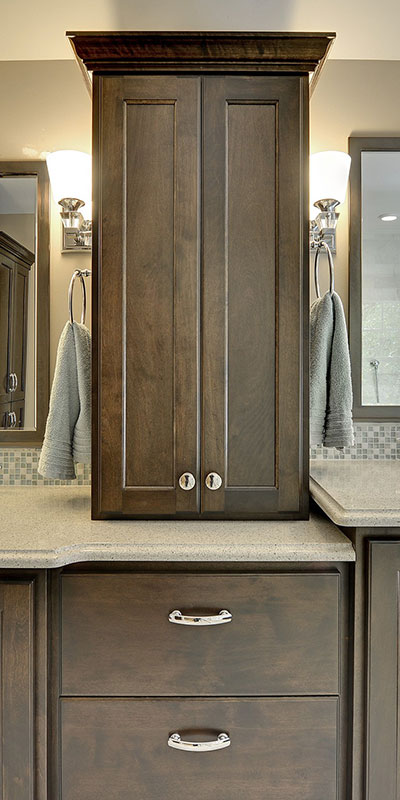 Custom Bathroom Vanities Near Me custom cabinets mn cabinet makers | christian brothers