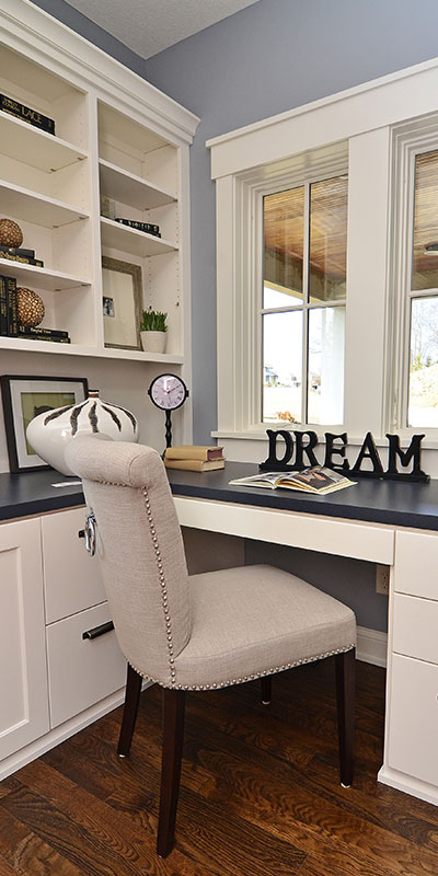 custom cabinets office