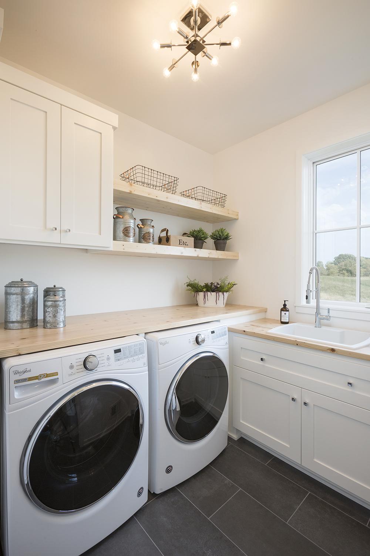Custom Laundry Room Cabinets MN | Custom Mudroom Built Ins on Laundry Room Cabinets  id=92074