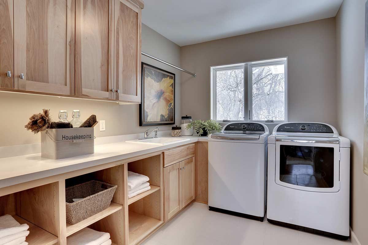 Custom Laundry Room Cabinets MN | Custom Mudroom Built Ins on Laundry Room Cabinets  id=39223