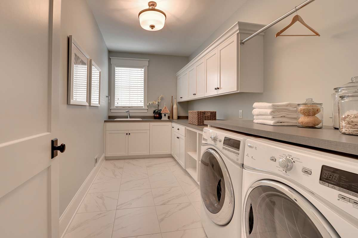 Click To Enlarge Image 18 Custom Laundry Room Cabinets Wa Jpg