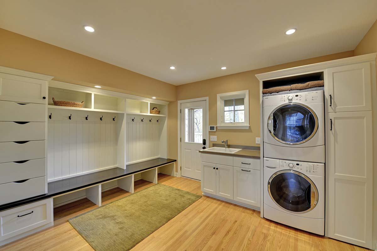 Custom laundry room cabinets mn mudroom built ins