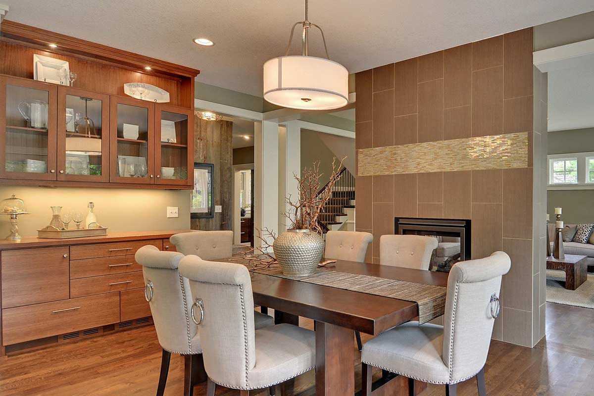 Click To Enlarge Image 10 Custom Dining Room Cabinets Wi