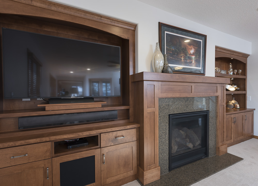 custom cabinets for living room living amp dining room cabinets custom cabinet builders mn 18788